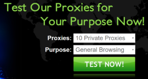 instantproxies start page tester